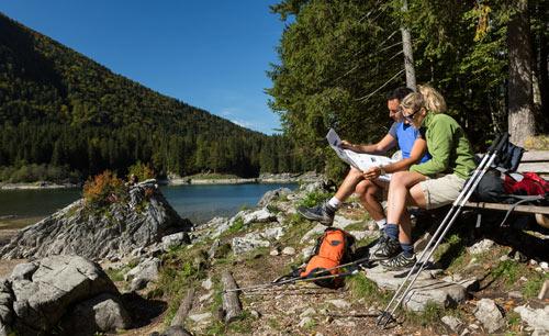 Alpe Adria Trail Fusine Lake Pentaphoto