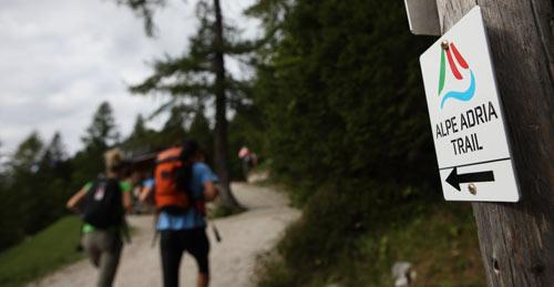 Alpe Adria Trail Laghi di Fusine Pentaphoto