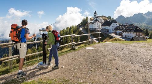 Alpe Adria Trail Monte Lussari Fabrice Gallina