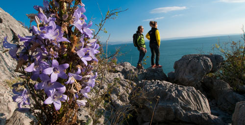Alpe Adria Trail Trieste area Marco Milani