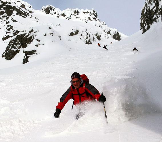 Scialpinismo in Norvegia