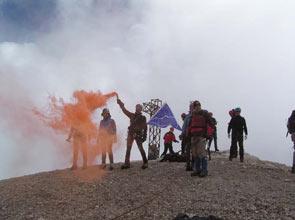 Sad Smoky Mountains - Foto Giovanni Busato & Friends su Marmolada Punta Penia