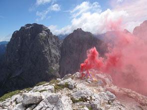 Sad Smoky Mountains - Foto Melania Lunazzi & Friends sul Buinz del Montasio