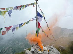 Sad Smoky Mountains - Foto Gianluca Perlato sulla Cima Tibet