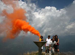 Sad Smoky Mountains - Foto Franco Michieli sul Pizzo Formico