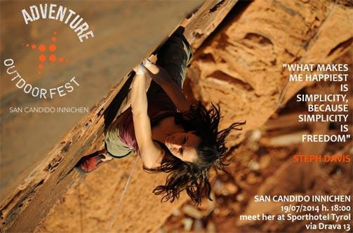Free Climbing all'Adventure Outdoor Fest 2014