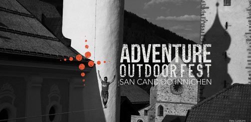 Slackline all'Adventure Outdoor Fest 2014