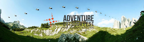 Wingsuit all'Adventure Outdoor Fest 2014