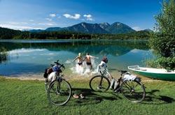 Mountain bike intorno ai laghi della Carinzia