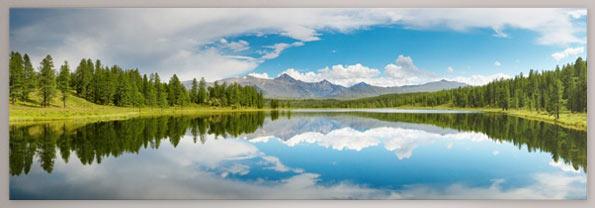 Quadro grande formato foto montagna
