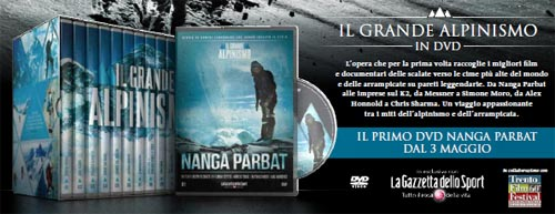 Il grande alpinismo in dvd
