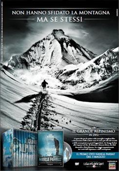 Locandina dvd alpinismo
