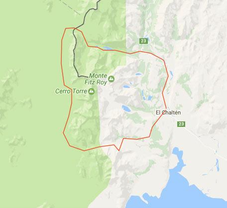 Itinerario trekking Patagonia Cerro Torre e Fitz Roy