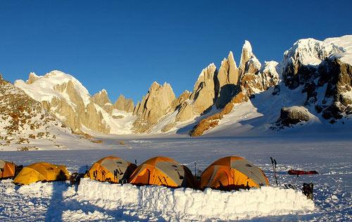 Trekking in Patagonia con Kailas