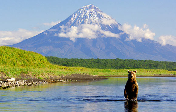 Trekking in Kamchatka