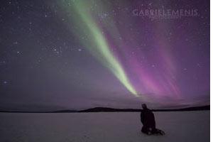 Tour fotografico aurore boreali Lapponia