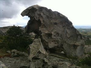 Boulder in Gallura
