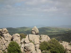 Boulder in Sardegna