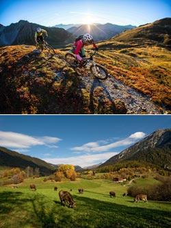 Escursioni per famiglie a Savognin