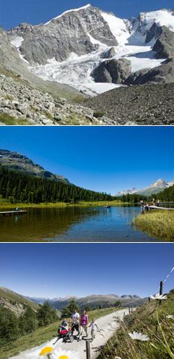 Piz Bernina e laghi