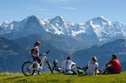 Mountain bike in Svizzera