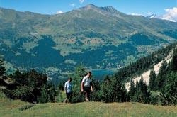 Escursioni in montagna a Lenzerheide