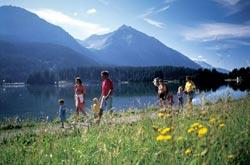 Escursioni per famiglie a Lenzerheide