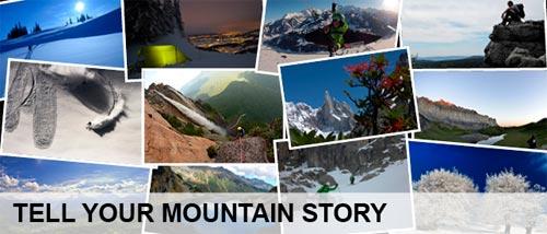 Racconta la tua storia in montagna