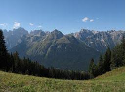 Le Dolomiti di Brenta viste dalla Paganella