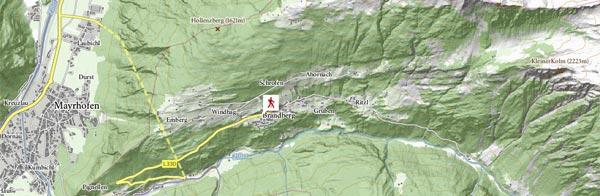 Formaggio Heumilchkäse della Zillertal in Tirolo