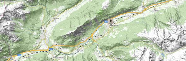 Mele di Haiming nella Ötztal in Tirolo