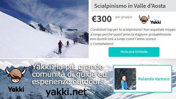 Proposta Scialpinismo in Val d'Aosta