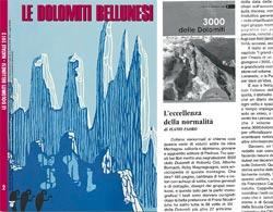 Recensione su Le Dolomiti Bellunesi