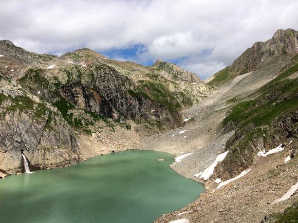 Il Lago Sfundau e il Passo di Cristallina