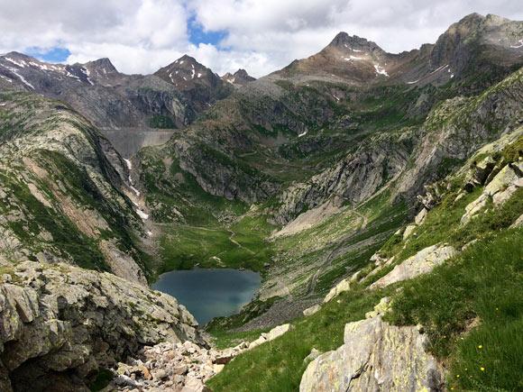 Il Lago Bianco ammirato da sopra