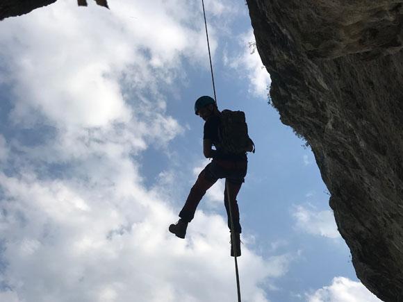 Corso base di arrampicata multipitch