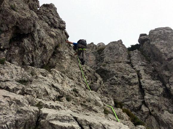 La Grignetta è arrampicata allo stato puro