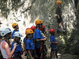 Arrampicata e avventura in ambiente naturale per i RAGAZZINI (11-13 anni)
