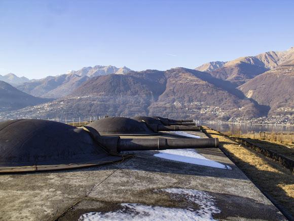Il bellissimo Forte di Montecchio a Colico