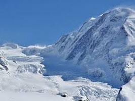 Sci alpinismo d'alta quota sul Monte Rosa