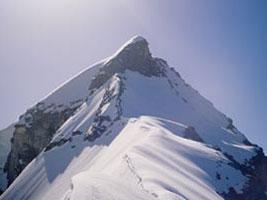 Punta Grober 3400 m con gli sci