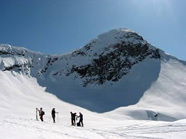 Sci alpinismo al Pizzo Campaggino 2279 m