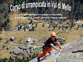 Corso di arrampicata in Val di Mello