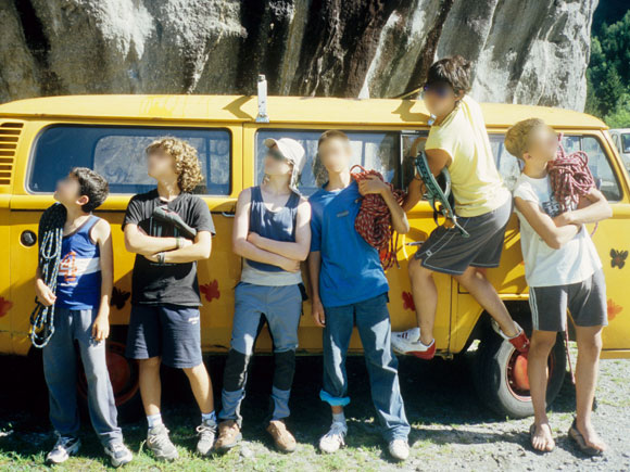 Giovani corsisti in posa