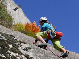 Corso di arrampicata in Val Masino