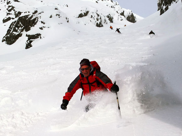 Scialpinismo in Norvegia nelle Alpi di Lyngen
