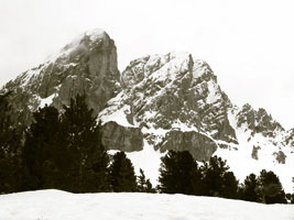 Alta Via Gunther Messner e Sass de Putia 2875 m