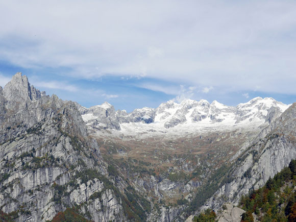 La Valle del Ferro, attraversata in quota dal Sentiero Roma