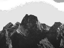 Spigolo Ovest del Sasso Manduino 2888 m