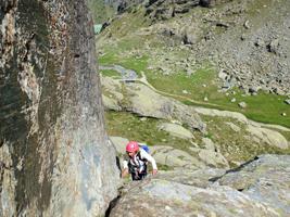 Corso di arrampicata in alta Valmalenco